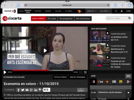 Cap A L'audiovisual 2.0